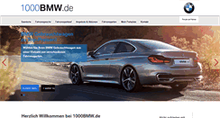 Preview of 1000bmw.de