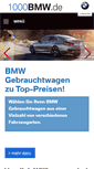 Mobile Preview of 1000bmw.de