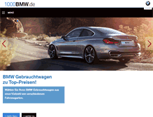 Tablet Preview of 1000bmw.de